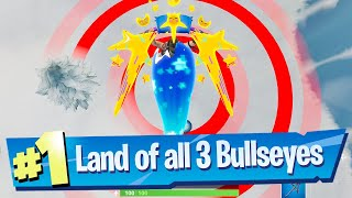Land on different Bullseyes - Fortnite (Bullseye! Challenge)