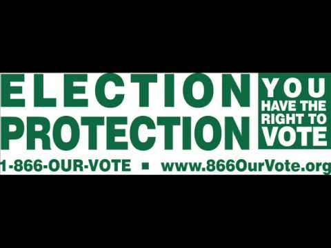 Laurence Fishburne Election Protection PSA (30s)