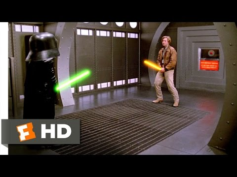 Spaceballs (11/11) Movie CLIP - Your Schwartz Is As Big As Mine (1987) HD