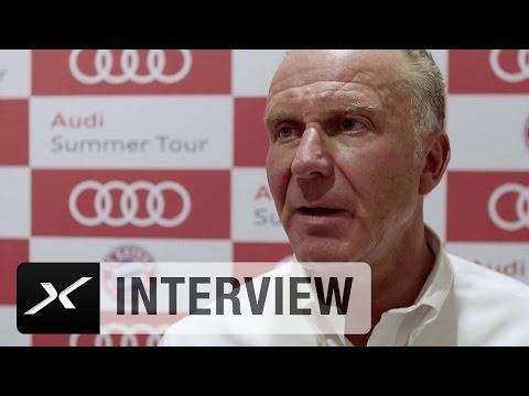 """Karl-Heinz Rummenigge zu US-Markt: """"Fußball kommt""""   FC Bayern München"""