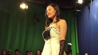 Kids fashion show first model