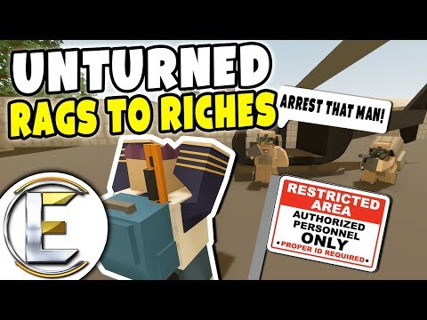 Military Restricted Area - Unturned Roleplay Rags to Riches #68 (Military Arrest) thumbnail