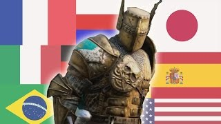 For Honor - Daubeny in 8 languages (1000 sub special)