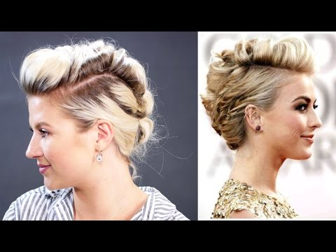 Short Hairstyle Julianne Hough How To Faux Hawk Hair Tutorial | Milabu