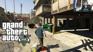 "GTA V Part 1 ""Bank Robbery"" Live Gameplay w/ Facecam (Grand Theft Auto V Let's Play / Walkthrough)"