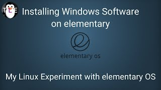 Running windows apps on elementary with WINE