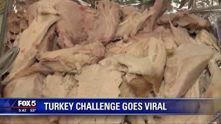 Turkey challenge goes viral