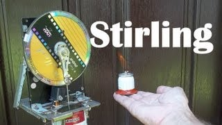 Como fazer uma lamparina com álcool, para motor Stirling- How to make a torch for alcohol