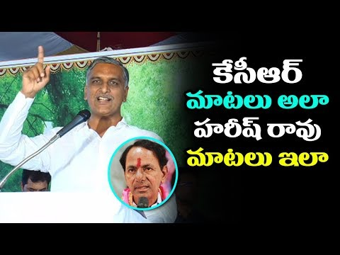 Harish Rao Talks About Andhrawala's | Harish Rao In Telangana Election Campaign | Indiontvnews