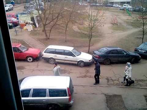 Приколы. Чудеса парковки.