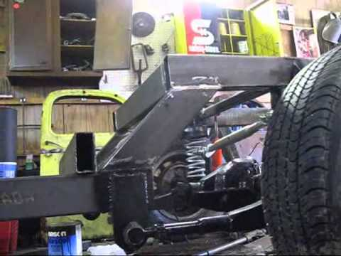 Mike S Ratrod Ride Height Frame Square Youtube