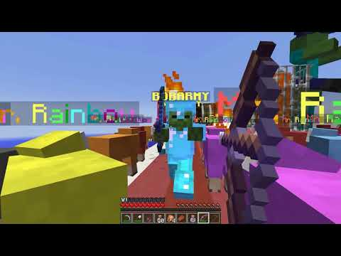 Nuevos Lucky Block's Azules!! -  Willyrex vs sTaXx - Carrera épica Lucky Block's - MINECRAFT