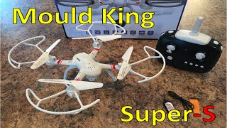 Mould King 33041 Super-S unboxing, flight, first impressions