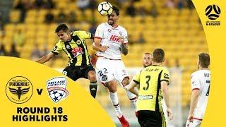 Hyundai A-League 2017/18 Round 18: Wellington Phoenix 0 - 1 Adelaide United