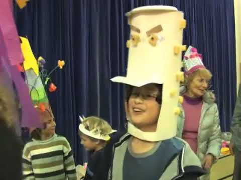 Paper Hat School Workshop and Parade