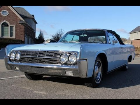 1962 lincoln continental test drive classic muscle car for for Vanguard motors for sale