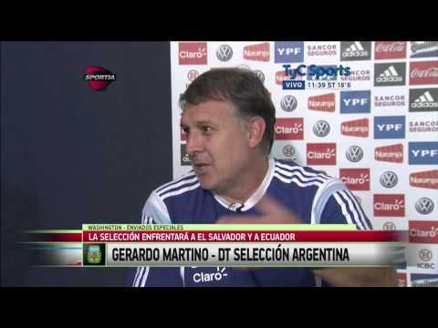 Gerardo Martino, previo a la Copa América 2015: