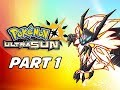 Pokémon Ultra Sun & Ultra Moon Gameplay Walkthrough Part 1 - Deja Vu (3DS Let's Play Commentary)
