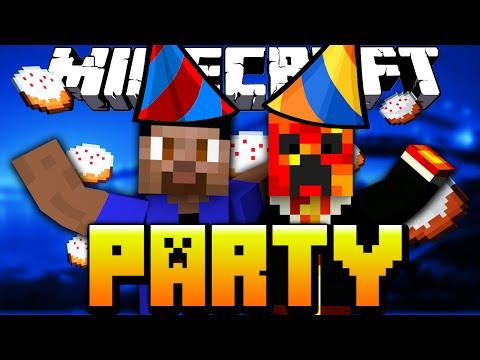 Minecraft Mini-Games: PARTY #15 with Vikkstar & PrestonPlayz (Minecraft Mini-Game)