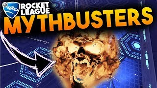 Do Goal Explosions Work In Dropshot!? | Rocket League Mythbusters Return! | Rocket League Hellfire