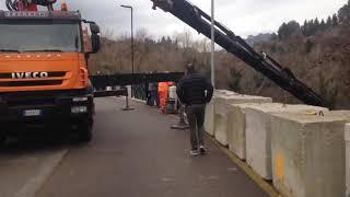 Il video del recupero dell'auto