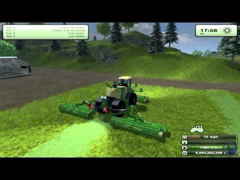 Farming Simulator 2013: How to farm. Cows Setup (Tutorial. 6/9)
