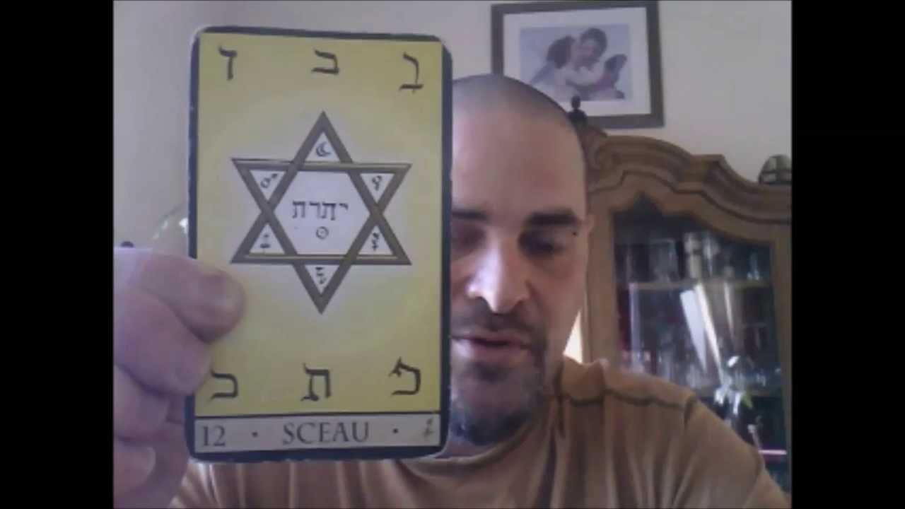 oracle de la triade carte 12 sceau mezael youtube. Black Bedroom Furniture Sets. Home Design Ideas