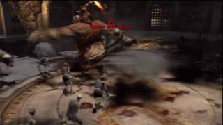 God of War III Challenges of Olympus: Challenge #5 - Knockout