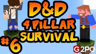 Dumb and Dumber on Minecraft - The 1st Pillar: Part 6, 4 Pillars