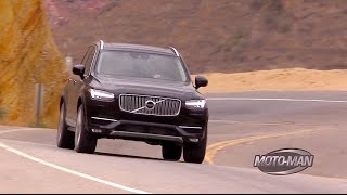 2016 Volvo XC90 T6 Turbo & Supercharged SUV FIRST DRIVE REVIEW