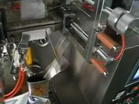 Автомат фасовка и упаковка чая в фильтр-пакет TB200.avi