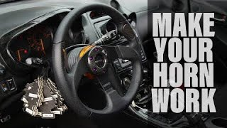 Ep. 007 - How to make your horn work with an aftermarket steering wheel.