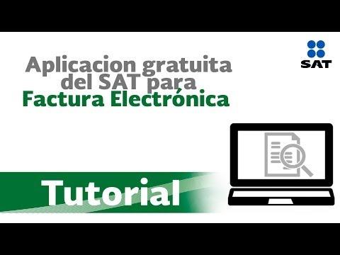 Tutorial: Uso De La Aplicaci�n Para Facturaci�n Electr�nica Gratuita Del Sat