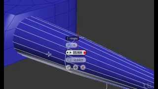 How To Model Guitar Fender Stratocaster in 3ds Max Part 6/8 HD 2014