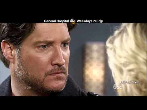 GH MURDER PROMO 2-27-14 GENERAL HOSPITAL AJ Ava Connie Sneak Peek Preview Muara West ATWT Carly