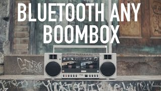 Bluetooth Enabled Funkbox From 1987 | Build Your Own