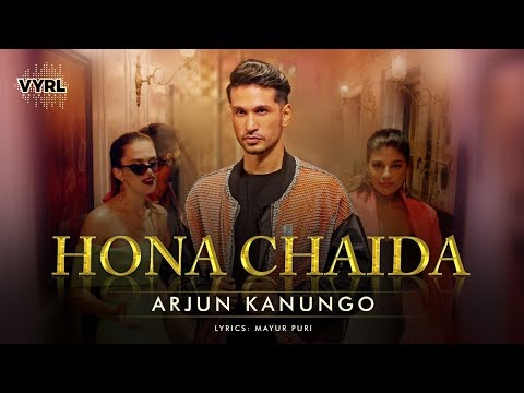 Hona Chaida - Arjun Kanungo | Official Music Video | New Punjabi Song  |  VYRLOriginals
