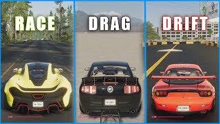 The Crew 2 - Best Cars/Bikes DRAG/DRIFT/RACE