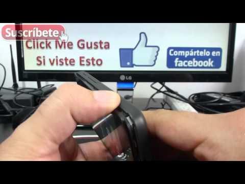 Alcatel Pixi 3 Como remover la tapa Español