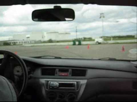 Otter @ Winged Warrior V! 04 Mitsubishi Lancer Ralliart Video