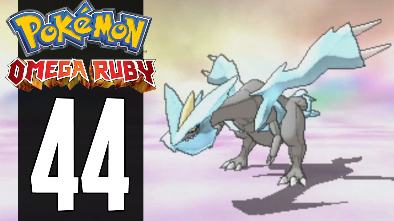 how to get kyurem in pokemon omega ruby