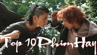 """Top 10 Phim Nhật """"Học Đường Bá Vương"""" Đánh Nhau Cực Ngầu Hay Nhất"""
