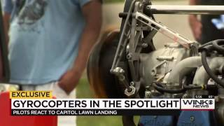 video Gyrocopters are the new hot topic around the country after a Tampa mailman landed his on the U.S. Capitol lawn. Thursday at the Wauchula Airport, gyrocopter enthusiasts from around the world...