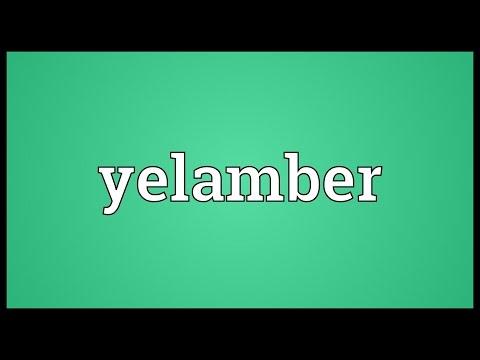 Header of yelamber