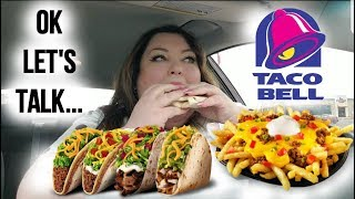 TACO BELL SPICY CHEETOS CRUNCH WRAP FEAST IN THE CAR