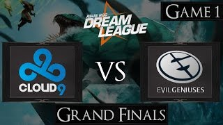Dota 2 Cloud 9 vs EG | DreamLeague Season 2 [Grand Final]