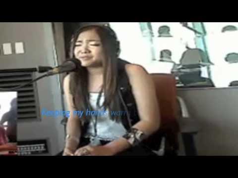 Charice Crescent Moon (Mikazuki) Japan Performances (with Lyrics)