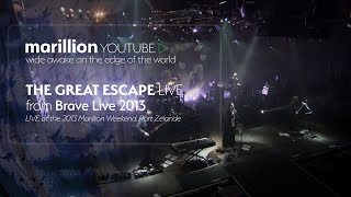 Watch Marillion The Great Escape video