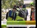 А совесть есть?  Школьники Нового Уренгоя ежедневно собирают кучи мусора