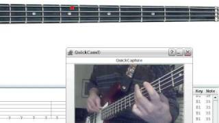 Billy Idol White Wedding Bass Cover
